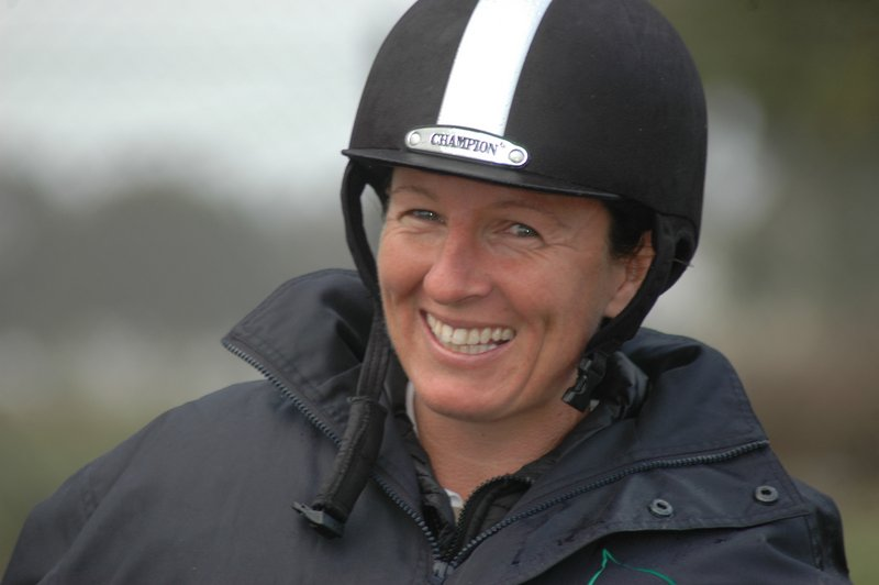 As well as riding in the dressage phase of the special CNC class at Melbourne 3 Day Event on her Olympic hopeful horse Adelaide Hill, Christine Bates rode ... - Christine-Bates_headshot_M3DE2012