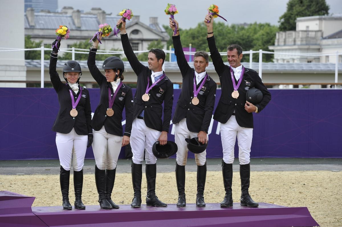 London 2012 Bronze medal team eventing