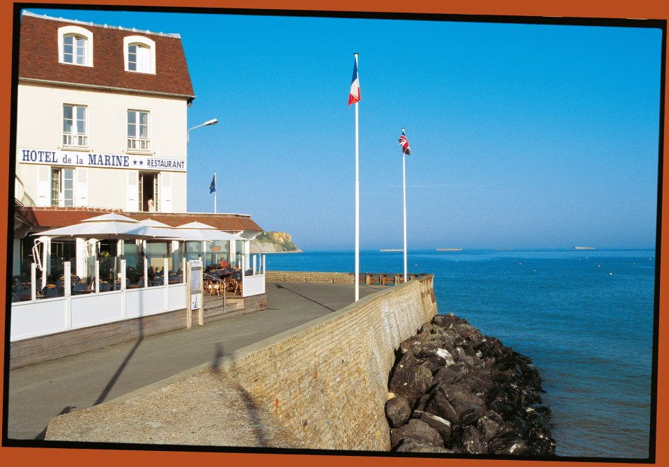 Hotel De La Marine In Arromanches Normandy An Eventful Life