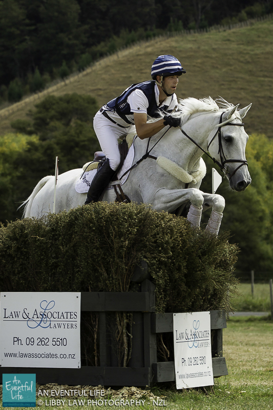 Clarke Johnstone New Zealand Eventing 2014