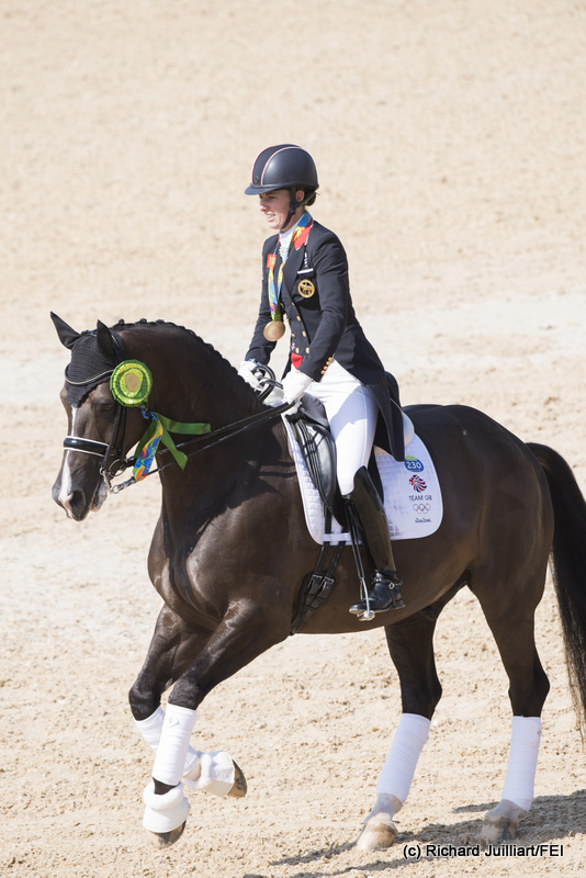 Farewell valegro the golden boy an eventful life for Charlotte dujardin