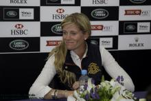 Sinead Halpin at Burghley Horse Trials