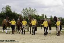Australian eventing team London 2012