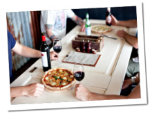 Pizza at Ballarat Horse Trials