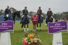 Fontainebleau Nations Cup Eventing German team