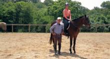 Dom Schramm eventing horse training