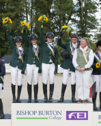 FEI European Eventing Championships for Juniors 2014