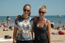 Sophie Beaty and Bella Innes-Ker