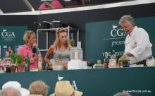 Mary and Emily King at Barbury Horse Trials