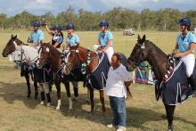 NSW eventing team State of Origin