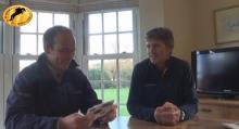Jonty Evans and Andrew Nicholson
