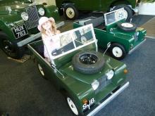Child's Land Rover