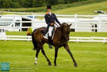 Chris Burton and Graf Liberty at Barbury International Eventing