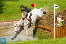 Neil Spratt Upleadon Land Rover Burghley Horse Trials 2013