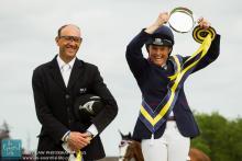 Pippa Funnell and Bill Levett Tattersalls Horse Trials 2013