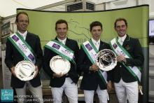 Jonty Evans, Joseph Murphy, Padraig McCarthy and Cathal Daniels