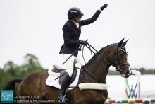 Flora Harris Bramham Horse Trials 2015