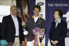 Christopher Burton Festival of British Eventing winner 2015