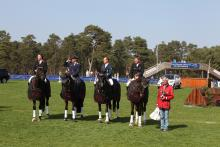 The winning German team at Fontainebleau CICO Nations Cup