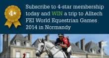 Win a trip to the World Equestrian games 2014