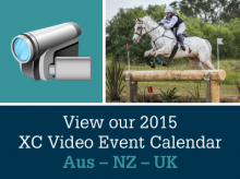Cross country videos eventing calendar 2015